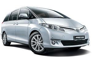 Europcar Car Rental Toyota Previa Doha Qatar Altayyar Online