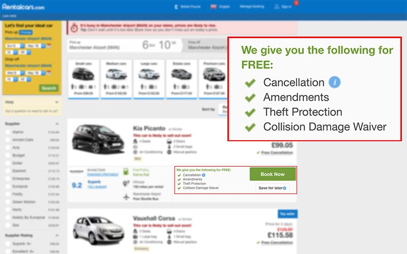 What is Rentalcars com's cancellation policy? - Rentalcars com