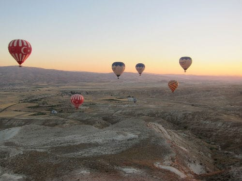 Our favourite hot air balloon locations from across the world
