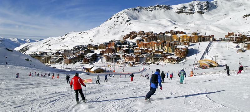 Hotels Val Thorens France