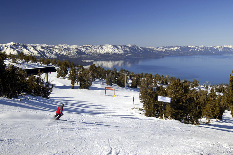 Winter in california for Snow cabins near los angeles